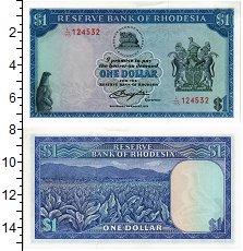Изображение Банкноты Родезия 1 доллар 1979  UNC
