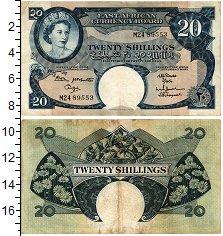 Изображение Банкноты Восточная Африка 20 шиллингов 1961  XF-