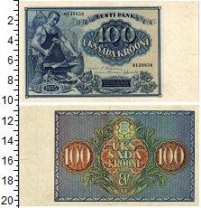 Изображение Банкноты Эстония 100 крон 1935  XF