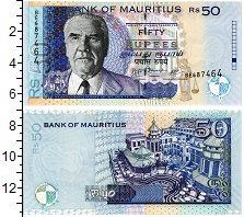 Изображение Банкноты Маврикий 50 рупий 2009  UNC Джозеф Патурау
