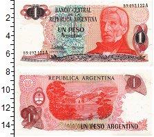Продать Банкноты Аргентина 1 песо 0