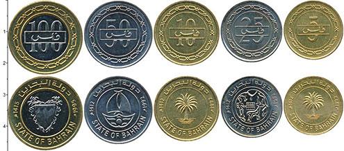 Изображение Наборы монет Бахрейн Бахрейн 2010-2012 0  AUNC