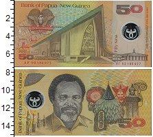 Изображение Банкноты Австралия и Океания Папуа-Новая Гвинея 50 кин 0  UNC
