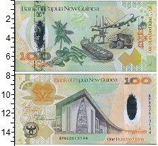 Изображение Банкноты Австралия и Океания Папуа-Новая Гвинея 100 кин 2008  UNC-