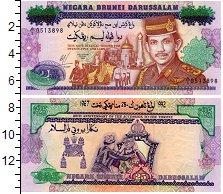 Изображение Банкноты Азия Бруней 25 рингит 1992  UNC