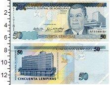 Изображение Банкноты Северная Америка Гондурас 50 лепирас 2010  UNC