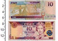 Изображение Банкноты Фиджи 10 долларов 2002  UNC