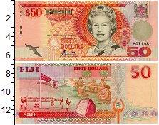 Изображение Банкноты Фиджи 50 долларов 2002  UNC