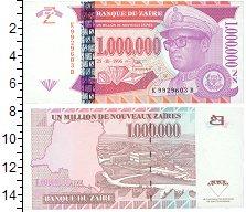 Изображение Банкноты Конго Заир 1000000 заир 1996  UNC
