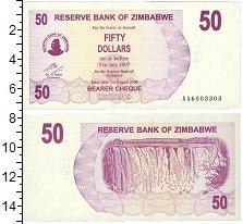 Изображение Банкноты Африка Зимбабве 50 долларов 2006  UNC
