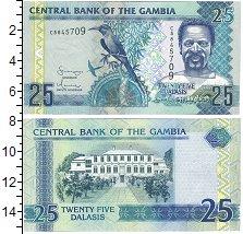 Изображение Банкноты Африка Гамбия 25 даласи 2016  UNC