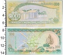Изображение Банкноты Мальдивы 100 руфий 2000  UNC