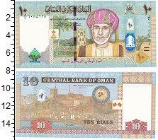 Изображение Банкноты Оман 10 риалов 2010  UNC