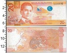 Изображение Банкноты Азия Филиппины 20 писо 0  UNC