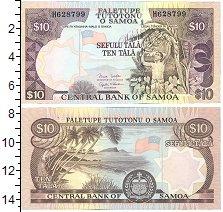 Изображение Банкноты Самоа 10 тала 0  UNC