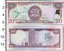 Изображение Банкноты Тринидад и Тобаго 20 долларов 2006  UNC