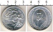 Изображение Монеты Италия 1000 лир 1994 Серебро