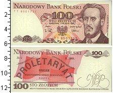 Изображение Банкноты Польша 100 злотых 1988  UNC