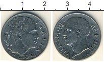 Изображение Мелочь Италия 20 сентесим 1940 Медно-никель XF Витторио Имануил III