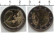 Изображение Мелочь Словения 2 евро 2008 Биметалл UNC-