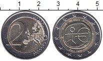 Изображение Мелочь Бельгия 2 евро 2009 Биметалл UNC-