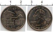 Изображение Мелочь Северная Америка США 1/4 доллара 2001 Медно-никель UNC