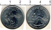 Изображение Мелочь США 1/4 доллара 2007 Медно-никель XF