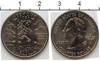 Изображение Мелочь Северная Америка США 1/4 доллара 2001 Медно-никель XF