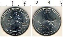 Изображение Мелочь США 1/4 доллара 2004 Медно-никель UNC- P. Техас 1845