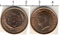 Изображение Мелочь Австралия и Океания Самоа 2 сене 2000 Медь AUNC