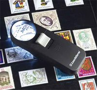 Изображение Аксессуары для монет Увеличительные приборы Лупа LU-29 LED (324404) 0