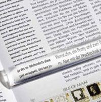 Изображение Аксессуары для монет Увеличительные приборы Лупа линейка для чтения  LU 27 (325816) 0
