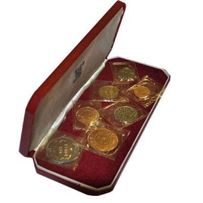 Изображение Подарочные монеты Африка Сейшелы Набор монет 1969 года 1969  Proof
