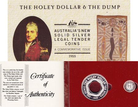 Изображение Подарочные монеты Австралия и Океания Австралия Десятичная система 1988 Серебро Proof