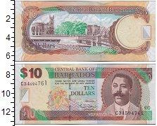 Изображение Банкноты Северная Америка Барбадос 10 долларов 2007  UNC