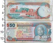 Изображение Банкноты Северная Америка Барбадос 50 долларов 2007  UNC