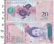 Изображение Банкноты Южная Америка Венесуэла 20 боливар 2011  UNC