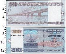 Изображение Банкноты Азия Бангладеш 100 так 2009  UNC