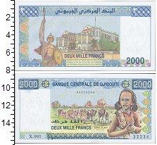Изображение Банкноты Джибути 2000 франков 0  UNC