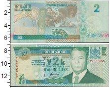 Изображение Банкноты Фиджи 2 доллара 2000  UNC