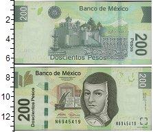 Изображение Банкноты Северная Америка Мексика 200 песо 2007  UNC