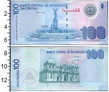 Изображение Банкноты Северная Америка Никарагуа 100 кордобас 2007  UNC