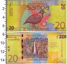 Изображение Банкноты Австралия и Океания Самоа 20 долларов 0  UNC