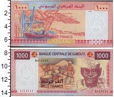 Изображение Банкноты Африка Джибути 1000 франков 2005  UNC