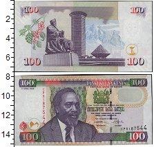 Изображение Банкноты Кения 100 шиллингов 2010  UNC