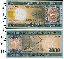 Изображение Банкноты Африка Мавритания 2000 угий 2006  UNC