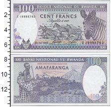 Продать Банкноты Руанда 100 франков 1989
