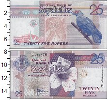 Изображение Банкноты Африка Сейшелы 25 рупий 0  UNC