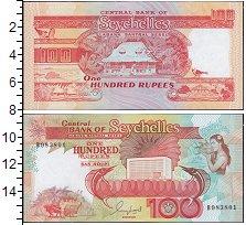 Изображение Банкноты Сейшелы 100 рупий 0  UNC
