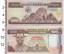 Изображение Банкноты Африка Свазиленд 100 эмалангени 2008  UNC
